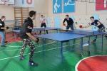 Соревнования по настольному теннису и перетягиванию каната